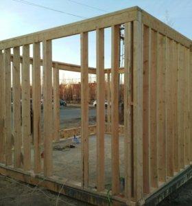Строительство жилых и нежилых помещений