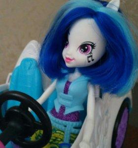 Машина + кукла Equestria Girl
