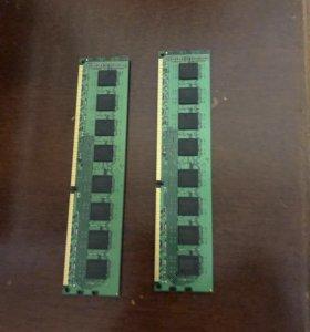 Оперативная память ОЗУ kingston kvr1066d3n7/1g