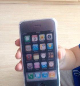 Мыло в виде айфона 4