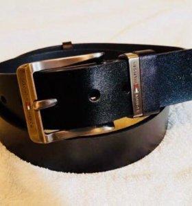 Мужской кожаный ремень Tommy Hilfiger новый