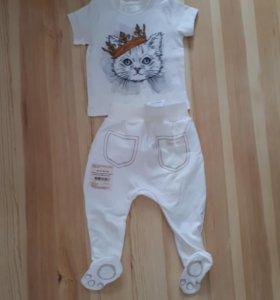 Новый костюмчик на малыша 74р-р.