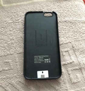 Портативный чехол-зарядка на iPhone 6 6s