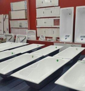 Сантехника ванна душевые кабины поддоны