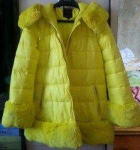 Пуховик (пальто куртка) зима