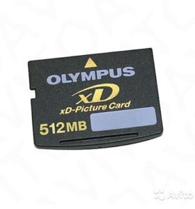XD-Picture Card Карта памяти 512 Мб Olympus