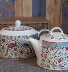 Новые фарфоровые чайники Churchill
