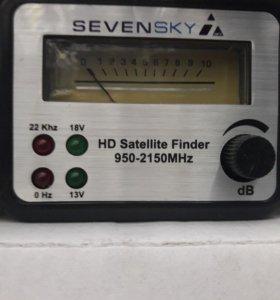 Измеритель спутникового сигнала новый