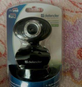 Веб камера с микрофоном и кнопкой для фотосьемки