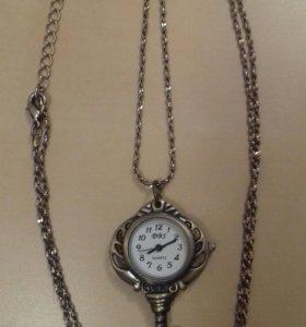 Кулон часы