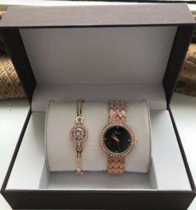 Украшение. Часы и браслет.Подарок