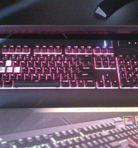Продам Corsair Strafe RGB Cherry MX Silent