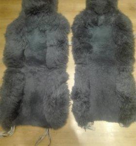 Чехлы на сидения овчина