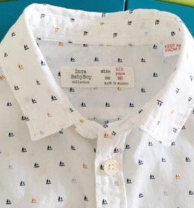 Рубашка Зара 98