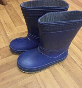 резиновые сапоги, ботинки демис., босоножки