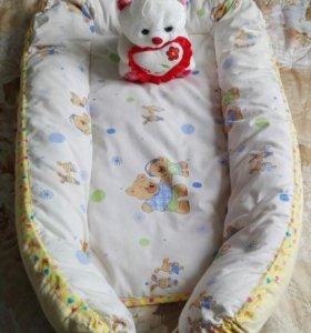 Кокон-гнездо для новорожденного
