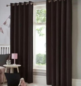 Новые бархатные шторы Венге