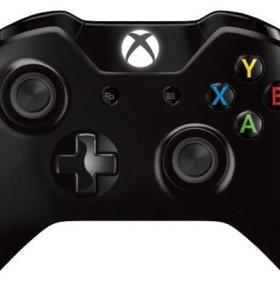 Джойстик для игровой консоли XBOX One. Черный