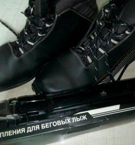 Ботинки лыжные(40) с креплением SNS