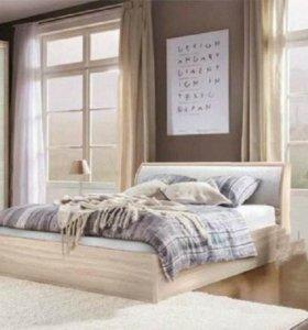 Кровать с мягкой спинкой, подъемный механизм