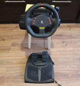 Игровой руль Logitech MOMO Racing