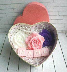Набор подарок мыла для мамы