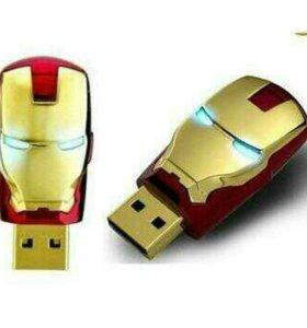 USB флешки Iron Man 16/32 gb