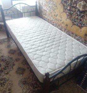Кровать 90см.