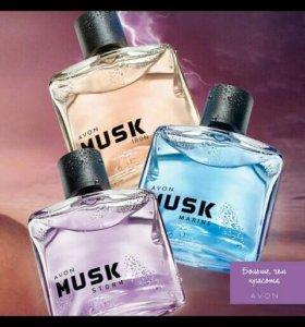 Мужская парф вода MUSK от avon