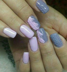 Наращивание ногтей качественными материалами
