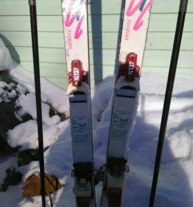 Лыжи горные в неплохом состоянии , без ботинок