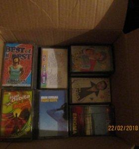 Продам аудио кассеты, целая коробка
