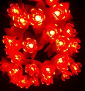 Светодиодный цветок