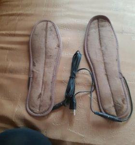 Стельки для обуви с подогревом