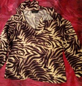 Кофта тигровая женская 44 размер