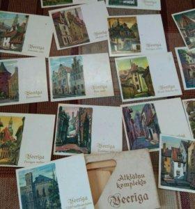 """Набор мини-открыток """"Старая Рига"""", 1979 год."""