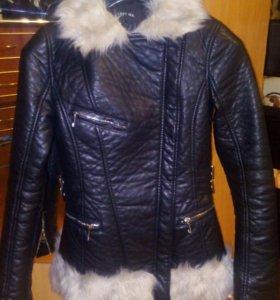 Куртка кожаная весна!
