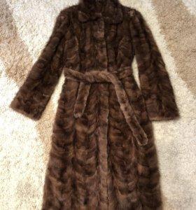 Норковая шуба/пальто