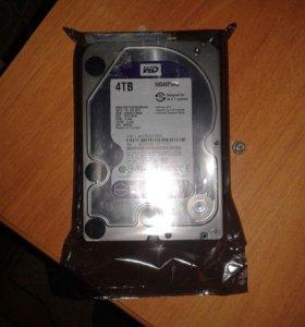 Жёсткий диск: 4TB WD40purz