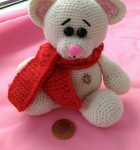 Медвежонок игрушка ручной работы
