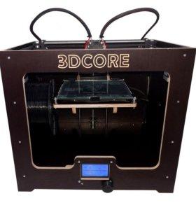 3D принтер i4 (2 экстр.) | 3DCORE