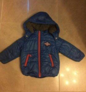 Детская теплая куртка Marasil. Греция