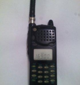 ALINCO DJ191T, ICOM F3, ALINCO DR430, гарнитура