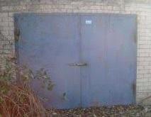Ворота металлические, с калиткой