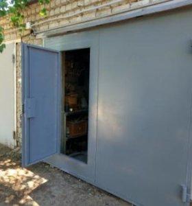 Ворота на гараж. Любой размер.
