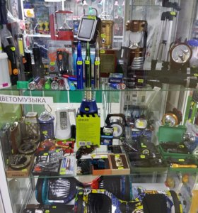 Фонари,USB зажигалки,ножи-визитки.