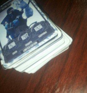 Продам карточки DRAXSUS