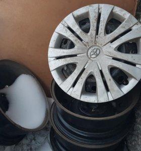 Оригинальные диски TOYOTA Corolla E150