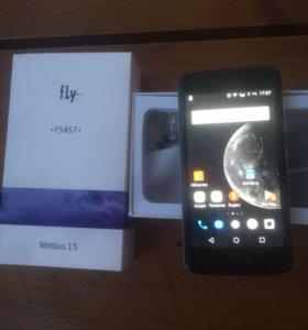 Смартфон fly fs457 4G LTE