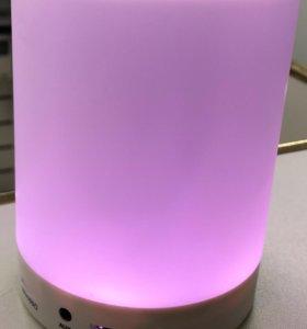 Bluetooth колонка (светящаяся)